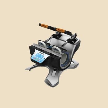 free shipping ST-210 Automatic Mug Press Machine For doing mugs sublimation heat press machine mug printing machine недорого