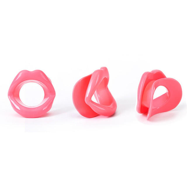 Big Mouth Silicone Slimming Face Up Slimmer Lip Trainer Oral Exerciser Mouthpiece body care Breathing loss weight fat burner 3