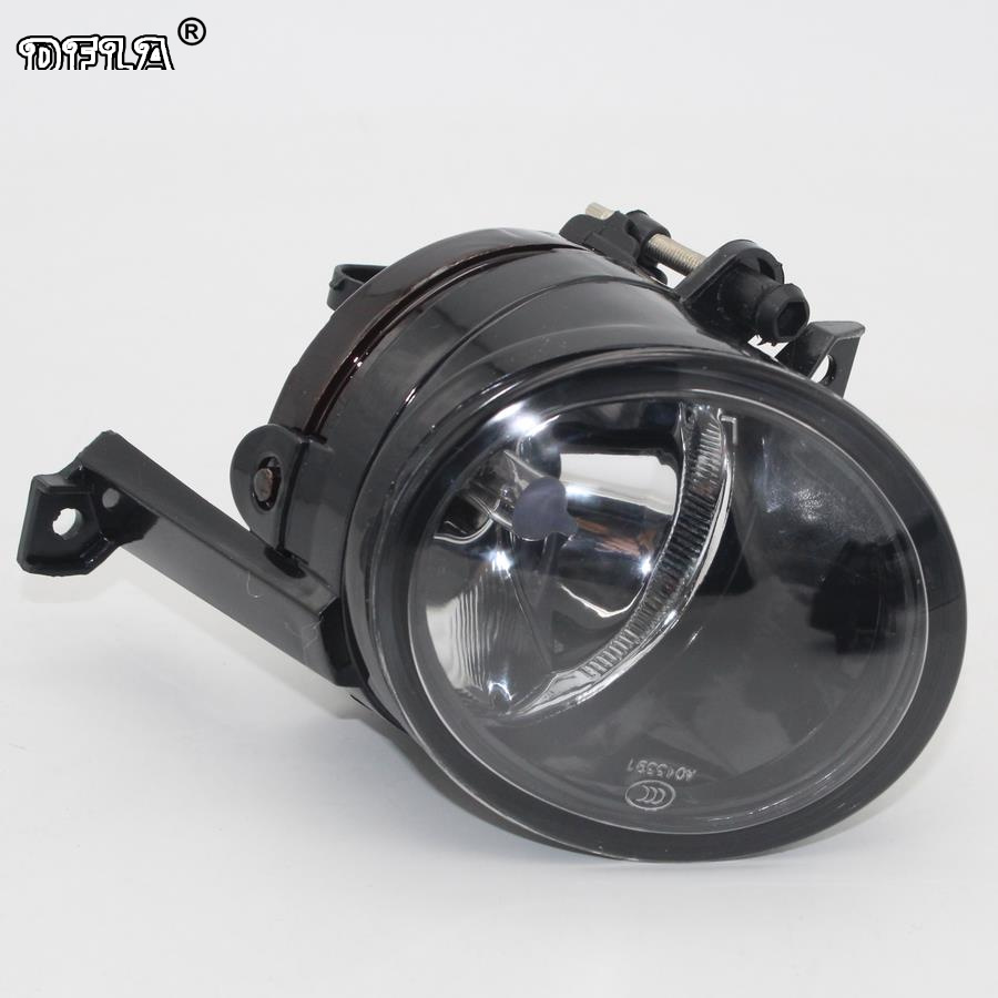 Left Side Car Light For VW Touran 2003 2004 2005 2006 2007 2008 Car-styling Front Bumper Halogen Fog Light Fog Lamp right side front fog light headlight for audi a3 s3 s line a4 b7 2004 2005 2006 2007 2008 oem 8e0941700 car accessory p318 r