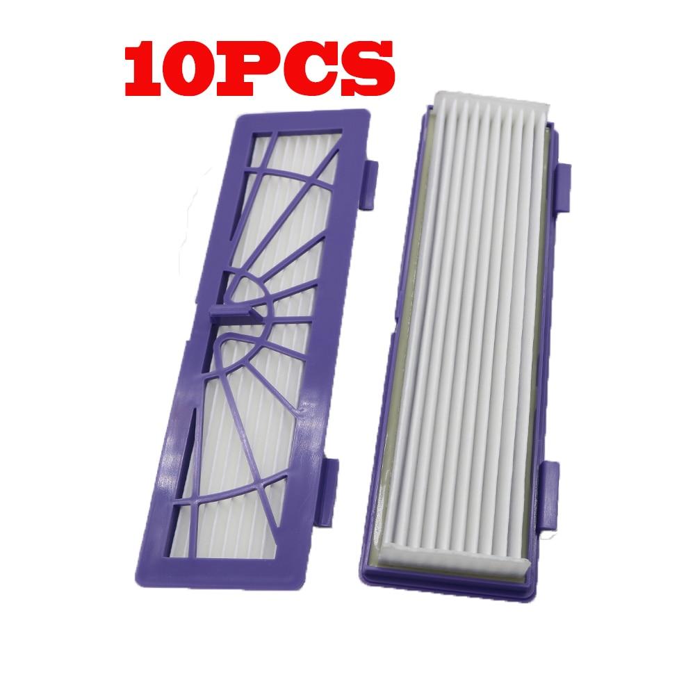 10 шт./лот Новый HEPA пылевой фильтр Замена для Neato BotVac 70e, 75,80, 85 Серии роботы-пылесосы робот