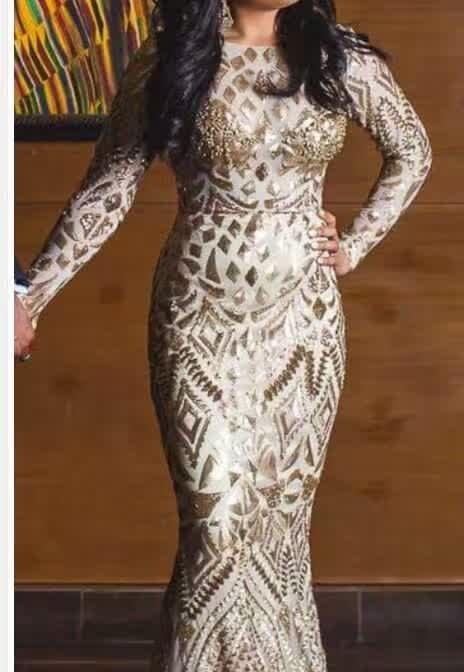 2016 Doprava zdarma Africká krajková tkanina, krásná tylová francouzská krajková tkanina s flitry Pro nigerijské svatební šaty