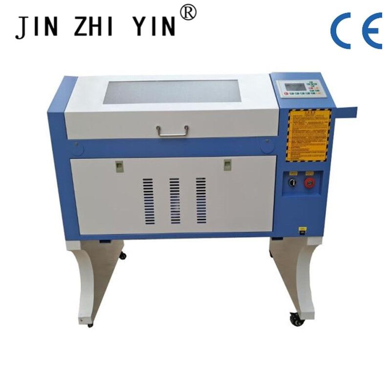 Precision Laser Engraving Machine Laser Engraving Machine 50W Co2 6040 Laser Engraving And Cutting Machine Ruida System