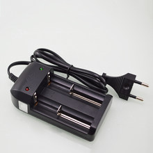 New arrival Automatic Power Off Battery Chargers AC 110V 220V Dual Charger For 18650 26650 Rechargeable Li-Ion Battery Wholesale(China)