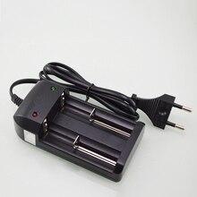 New arrival automatyczne wyłączanie zasilania ładowarki do akumulatorów AC 110V 220V podwójna ładowarka dla 18650 26650 akumulator litowo jonowy baterii hurtownia