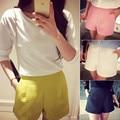 New Fashion Women Summer  Club Work Short Ladies Casual  White Black Shorts Trousers