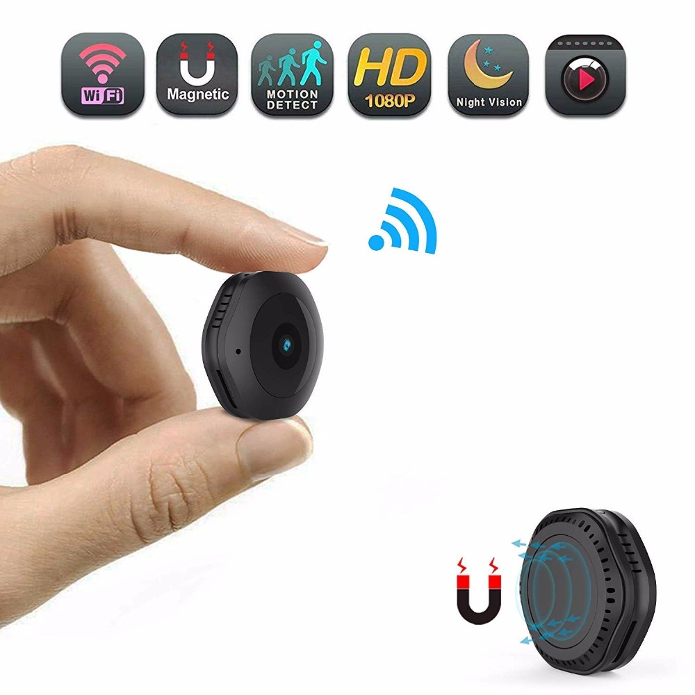HD WiFi <font><b>mini</b></font> <font><b>Camera</b></font> sport DV Kamera 1080p 720P with Night Version Micro DVR Remote Control Motion Sensor Cam support hidden card image