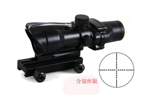 New ACOG 4X32 Rifle Scope black color Tactical Hunting Riflescope W/ 20mm rail mount imagers for hunting weapons guns New ACOG 4X32 Rifle Scope black color Tactical Hunting Riflescope W/ 20mm rail mount imagers for hunting weapons guns