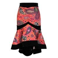 2019 New Latin Dance Skirts Sale For Women Adult Standard Ballroom Samba Salsa Dance Dress Women Vestidos Tango Skirt DL3410