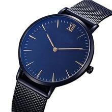 Men Watches New Luxury Brand Ultra Thin Full Genuine Leather Clock Male Casual Sport Watch Men Wrist Quartz Watch montre femme