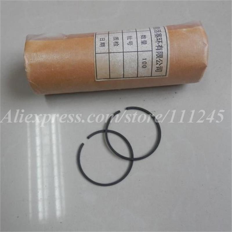 PISTON RING 100 PCS 41MM X 1.5M FOR PARTNER 350 351 POULAN 2250 220 221 260 40cc 42cc CHAINSAW KOBLEN KIT CYLINDER ASSEMBLY 41 1mm 350 cylinder