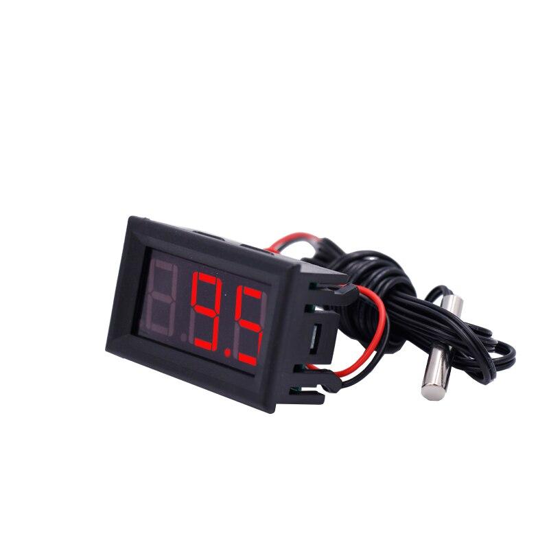 Naujas atvežimas -50 ~ 110 ° c LED temperatūros matuoklis Jutiklio - Matavimo prietaisai - Nuotrauka 6