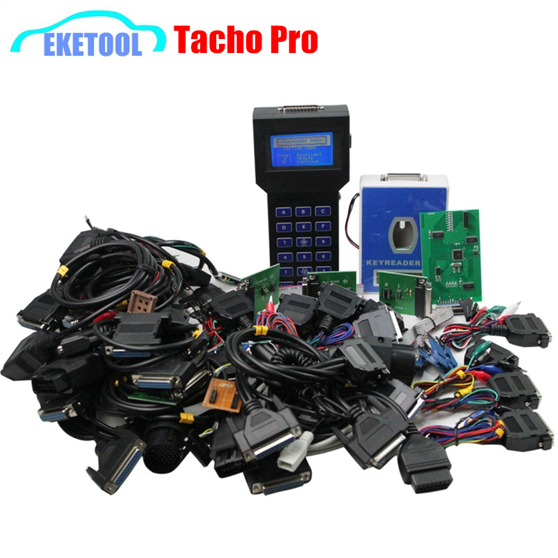EEPROM Programming TACHO PRO Plus V2008 July Auto Programmer Odometer&Mileage Correction Tacho Pro 2008 Works Multi Cars