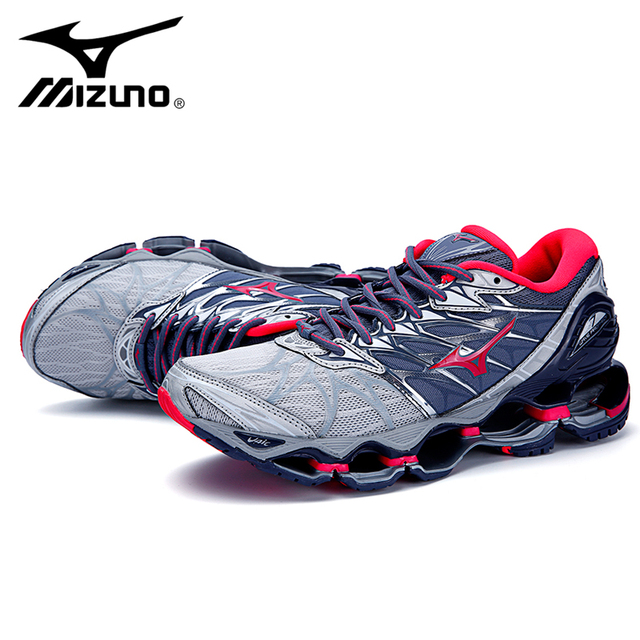 cheap for discount fc4fc df369 Mizuno Wave Prophecy 7 Professional Women Shoes Outdoor Air Cushioning  Weightlifting Shoes Original Sneakers Size 36-41