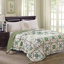 Summer comfortable Ventilation fashion quilt Cotton material, give you a different experience Size for180x220cm