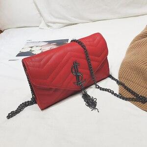 Image 1 - Luxury Handbags Women Bags Designer Shoulder Vintage Velvet Chain Evening Clutch Bag Messenger Crossbody Bags Borse da donna