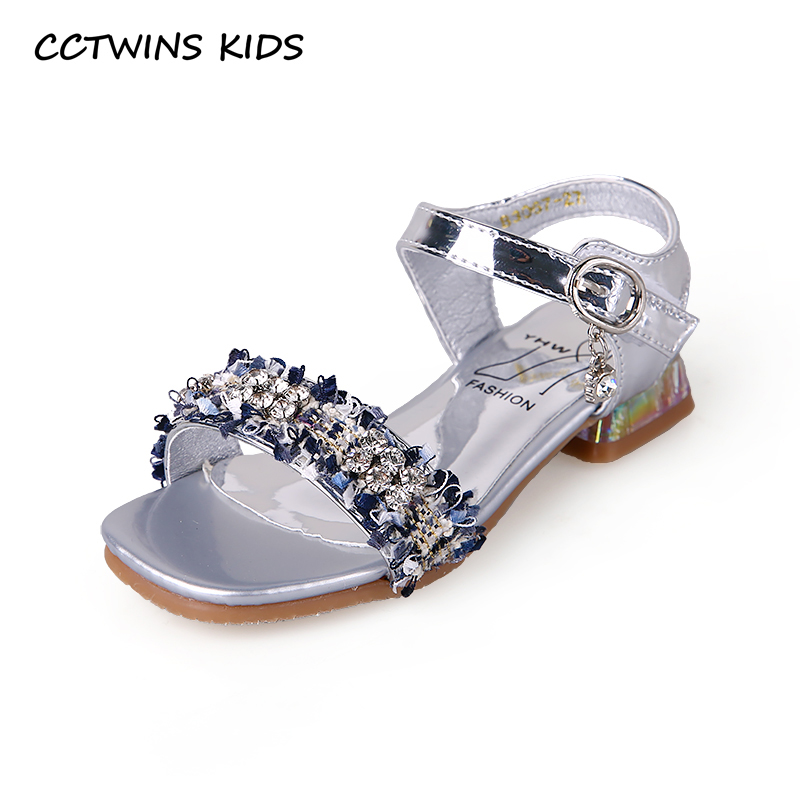 CCTWINS Kids Shoes 2019 Summer Girls Fashion Rhinestone Party Princess Shoe Toddler Children Casual Flat Baby Soft Sandals PS738CCTWINS Kids Shoes 2019 Summer Girls Fashion Rhinestone Party Princess Shoe Toddler Children Casual Flat Baby Soft Sandals PS738