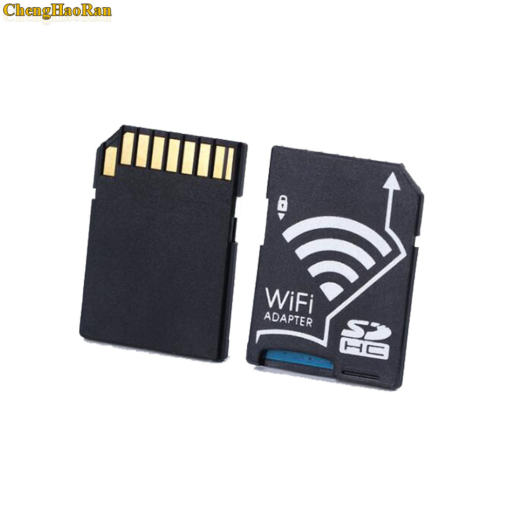 1pc Microsd TF Card To Wireless Wifi SD Card Adapter Not Including TF Card