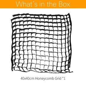 "Image 2 - Godox 40x40cm 15""x15"" Honeycomb Grid for Godox S type Studio Speedlite Flash Softbox (40*40cm Grid Only)"