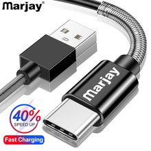 Marjay USB Type C Cable for Huawei Mate 20 Pro P20 Lite Supercharge Fast Charging Type-C Samsung S10 S9