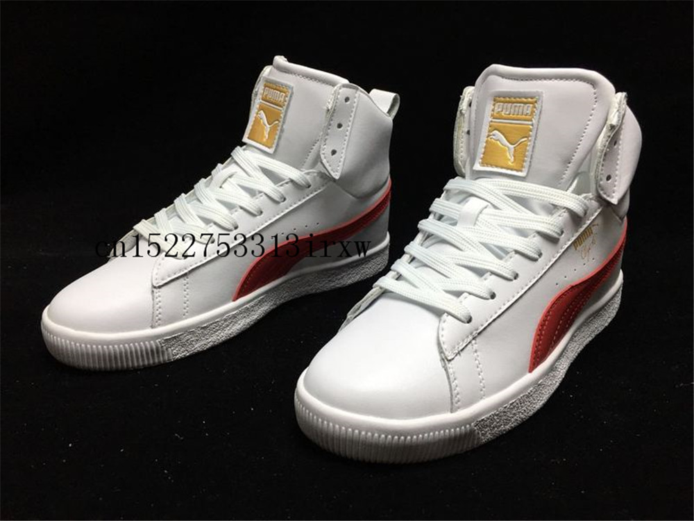 best website 929df 64390 puma clyde high top