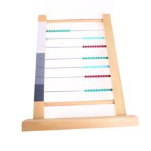 New Wooden Baby Toys Montessori Computing Rack Baby Educational Toys