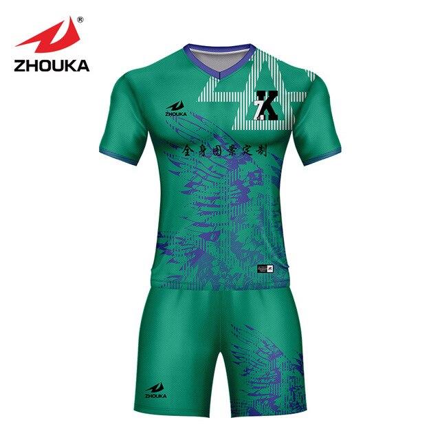 92aa57932d2d1 Personalizado camisetas de fútbol de color de diseño de combinación polo  camiseta de impresión personalizada de