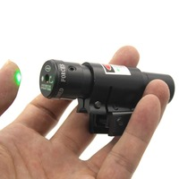 Tactical Hunting Green Laser Light Combo Sight 11mm Or 20mm Rifle Pistol Compact Picatinny Mount