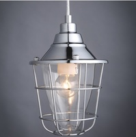STREET GAS LAMP PENDANT with Glass Shade