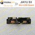 Jiayu S3 USB Placa de Carregamento Porto + Mic microfone Substituição Assembléia Reparação parte de Fixação para Jiayu S3 S3 +