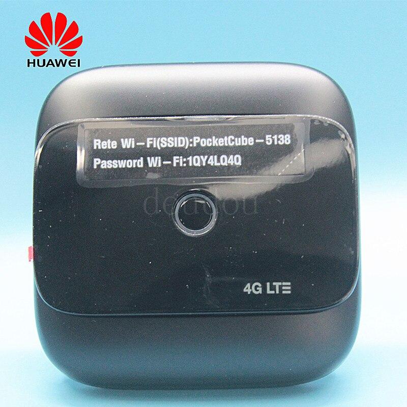 Débloqué nouveau Original Huawei E5575 E5575s-210 4G LTE 150 Mbps WiFi routeur Mobile Hotspot 4G Portable WiFI Modem routeur PK E5577