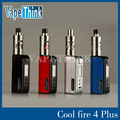 in stock Innokin iTaste Cool fire IV plus with isub A tank CoolFire 4 Plus 70W with isub G tank full kit cool fire 4 plus kit