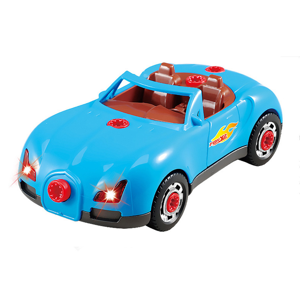 Model Cars Hot Wheels Soft Machine Toy Racing Car Toys Build Your