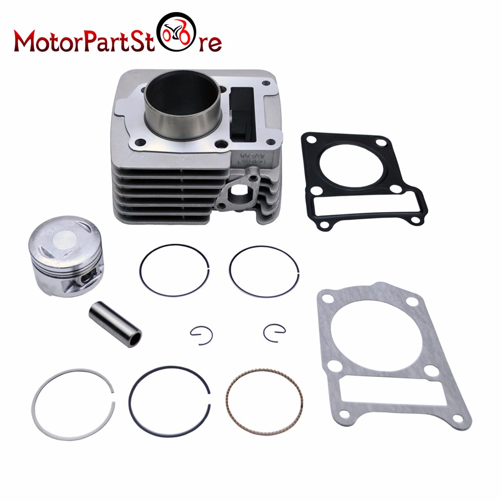 Cylinder Piston Rings Gasket Kit for Yamaha TTR125 TTR125E TTR 125 2000 2001 2002 2003 2004 2005 Motorcycle ATV Dirt Bike *