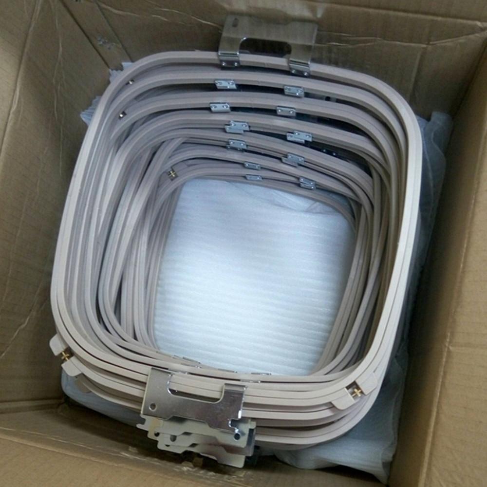 12 pièces en gros forme carrée 30*30 cm SWF tubulaire cerceau longueur totale 395mm bonne qualité broderie cerceau