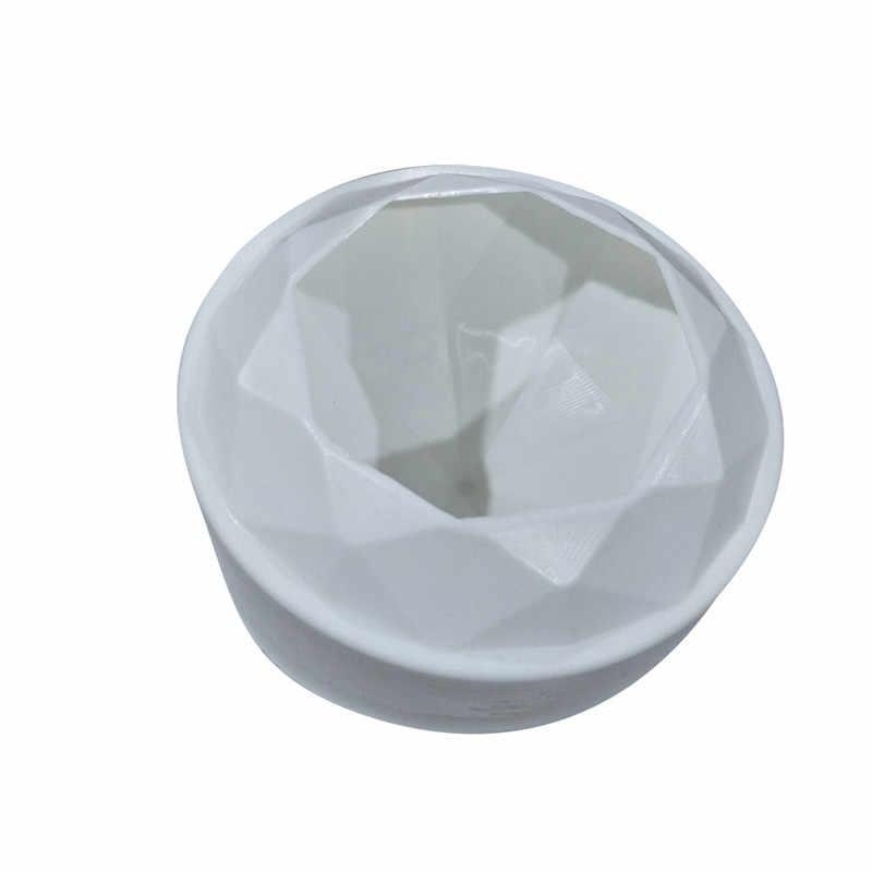 SHENHONG 1 шт. Алмазная форма для торта 3D формы для торта, Мусса для мороженого крема для шоколада сковорода Geometric геометрические формы Moule
