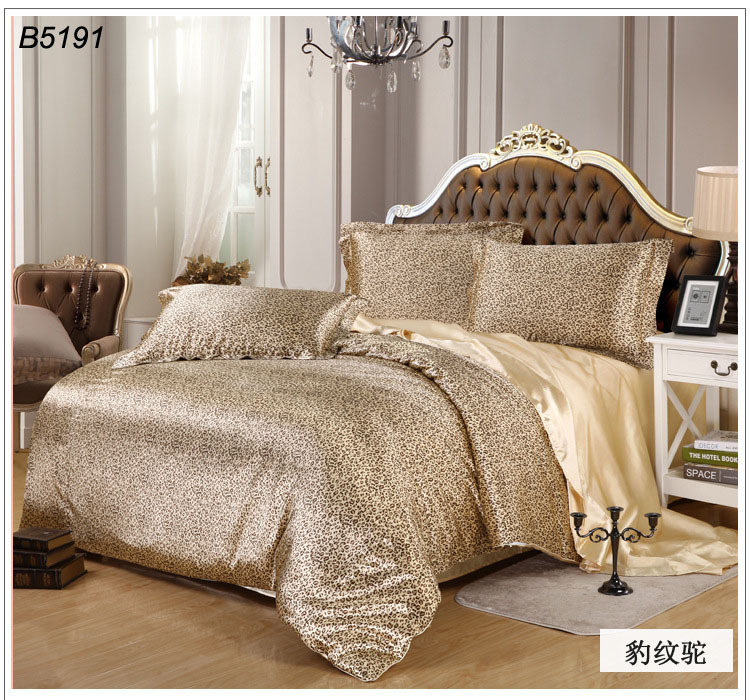 Cheetah Bedroom Set - Interior Design