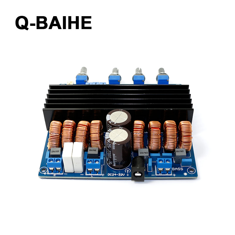 цена на Finished Original Product TDA7498 2.1 Three-Channel Digital High Power Amp Amplifier Board For Speaker Class D 200W+100W+100W