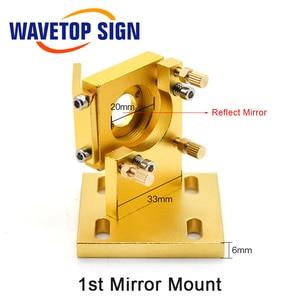 Image 4 - WaveTopSign CO2 לייזר ראש סט עבור 2030 4060 K40 לייזר חריטת מכונת חיתוך