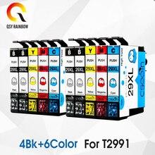 Замена 10 шт. T2991XL T2991 для Epson чернильных картриджей 29XL XP235 XP247 XP245 XP332 XP335 XP342 XP345 XP435 XP432 XP442