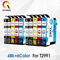 Wymiana 10 sztuk 29 29XL T2991XL T2991 do projektora Epson wkłady atramentowe XP235 XP247 XP245 XP332 XP335 XP342 XP345 XP435 XP432 XP442