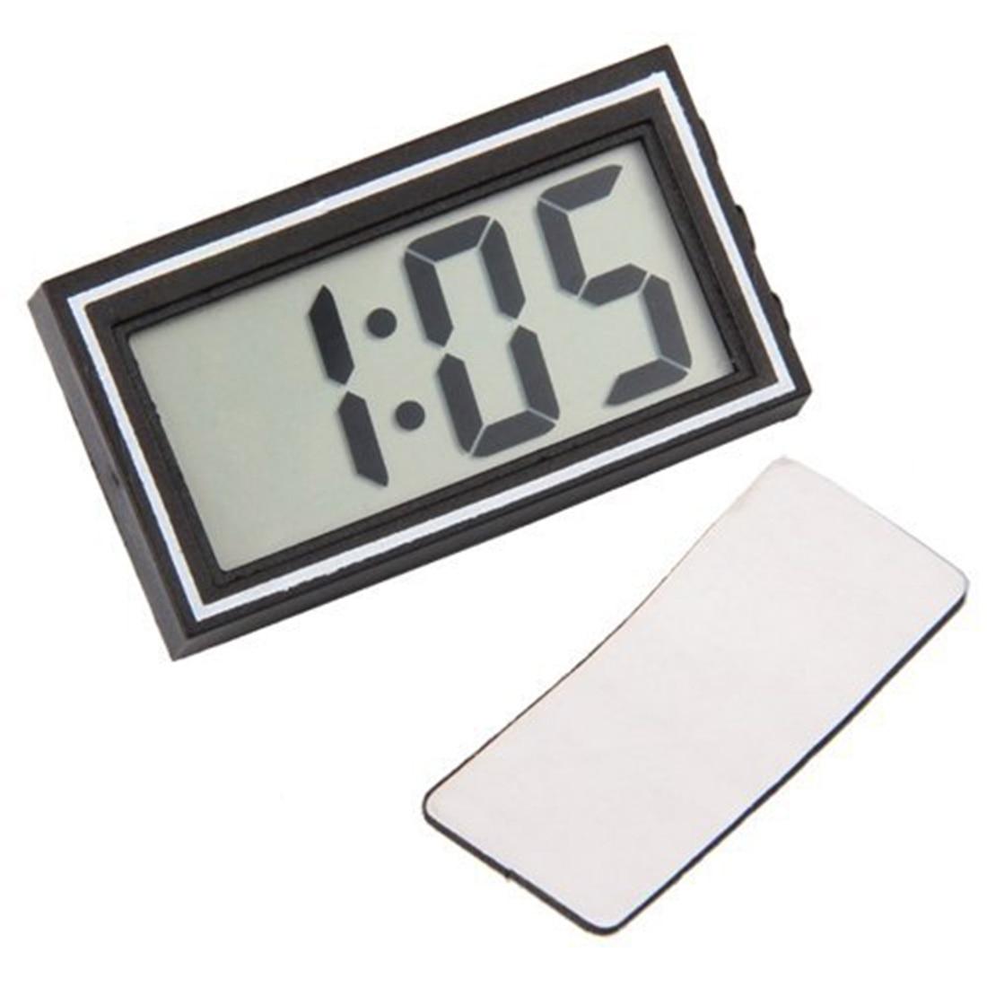 Mini Los Portátiles Electrónicos de Escritorio de Coches Dashboard Reloj Fecha H