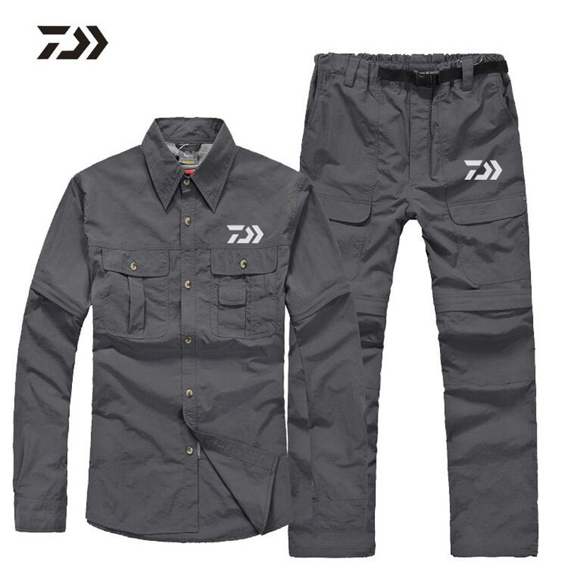 2018 Quick-drying Fishing Clothes Suit Sports Outdoor Fishin
