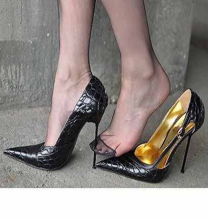 c87d76bc49d high heels shoes women pumps Metal steel 14cm sexy black pointed toe spring  luxury shoes cheap lx1537