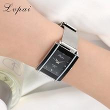 Fashion Rectangle Silver Bracelet Watch Women Watches Luxury Crystal Ladies Silver Watch Women's Watches Clock reloj mujer