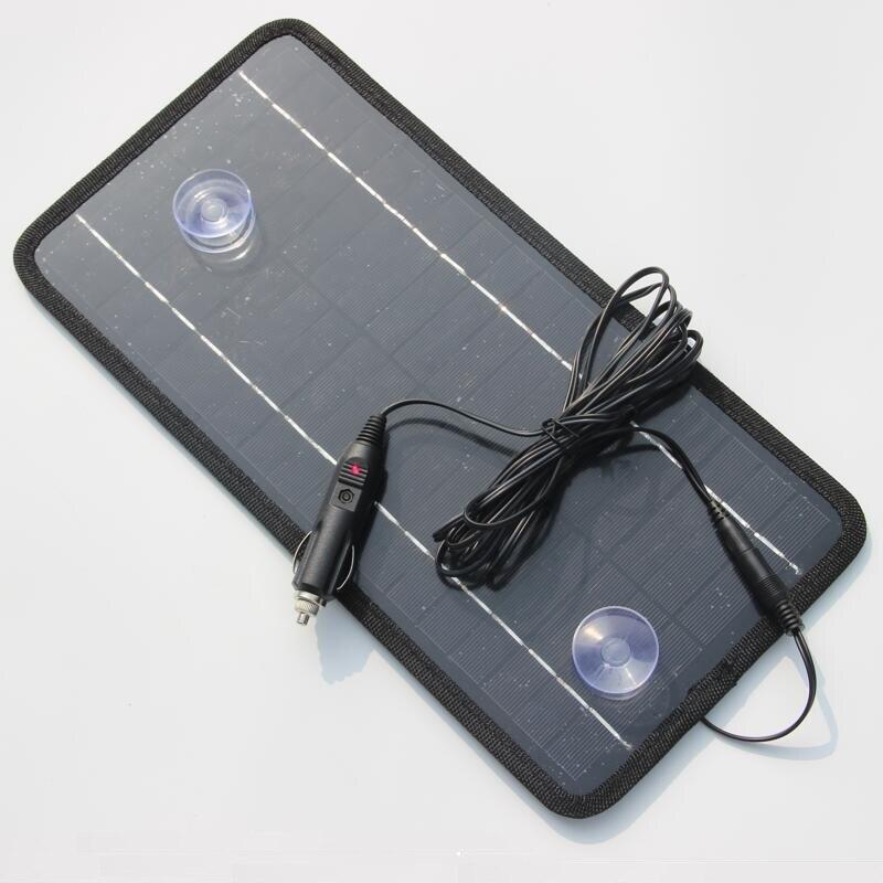 Chargeur de panneau solaire 8.5 W 18 V pour batterie de voiture/téléphones mobiles/batterie externe chargeur de cellule solaire Portable de haute qualité livraison gratuite