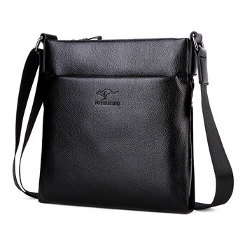 2019 New Arrival Top quality leather Kangaroo men's messenger bag Brand shoulder bag fashion crossbody bag Handbags for male
