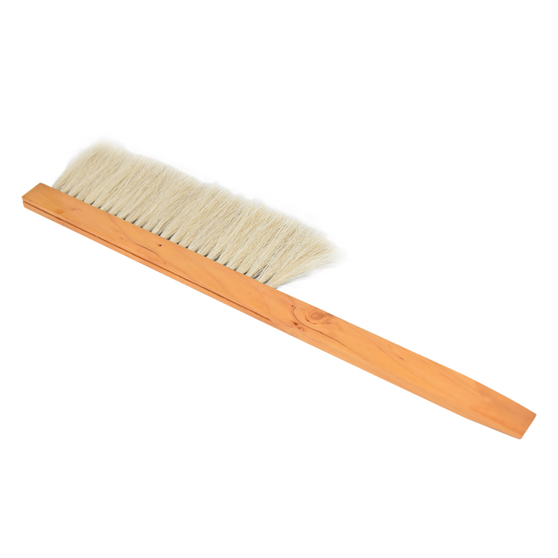 Beehive Cleaning Brush Wooden Bee Sweep Beekeeping Tools Single Row Bristles Beekeeper Equipment