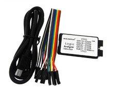 5 stks Nieuwe Collectie USB Logic Analyzer 24 M 8CH, MCU ARM FPGA DSP debug tool