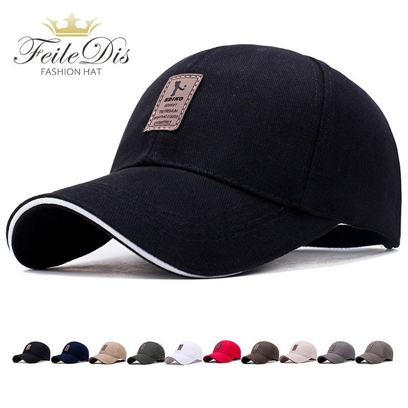 [FEILEDIS]Men's and women   Baseball     Cap   Men's Adjustable   Cap   Casual leisure hats Solid Color Fashion Snapback Summer Fall hat