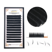 1 case magic lash new arrived bloom eyelash volume effect false self-making fan faux mink extension